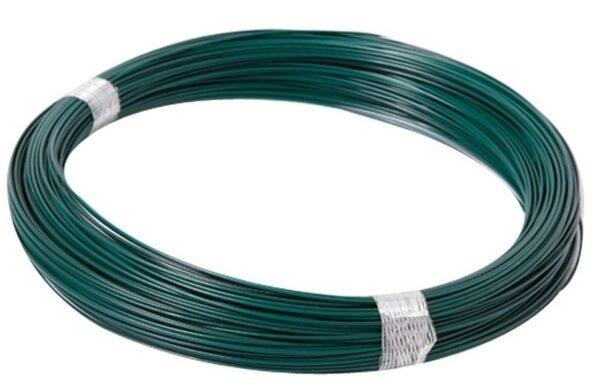 Eisendraht grün beschichtet