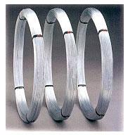 Eisendraht in abgeteilten Ringen