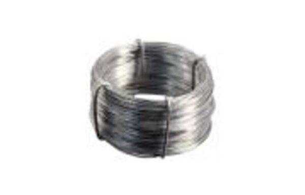 Eisendraht in Ringen zu 25-50 Kg.