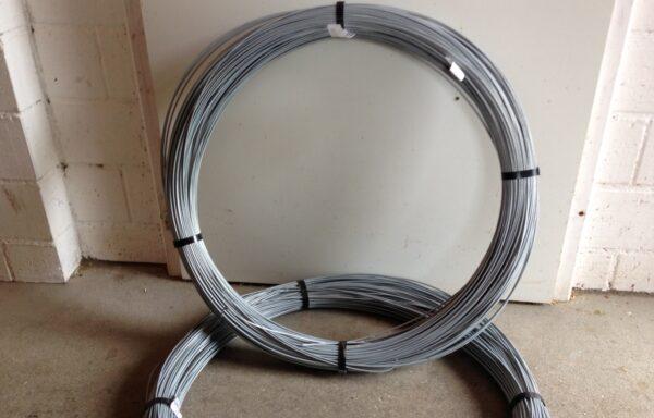 Stahldraht oval