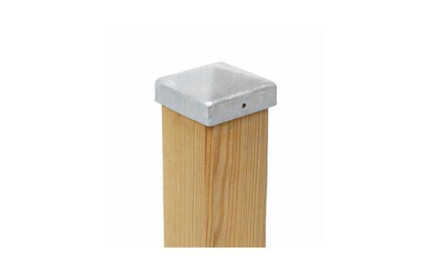 Pfostenkappe 4-kant flach